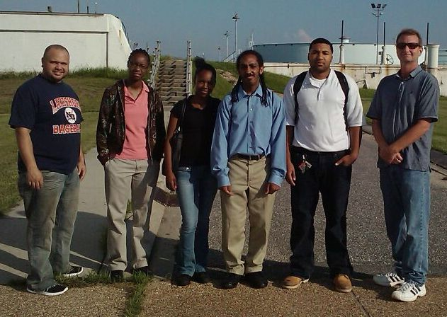 LVI Interns at New Orleans Sewerage and Water Board Plant